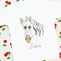 Zebra T-shirt and Bag