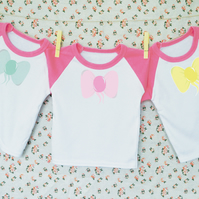 Baby Bow T-shirt Set