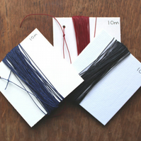 Book binding thread in choice of Four Colours