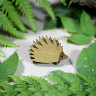 Hedgehog Brooch - Woodland Collection