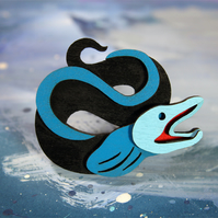 Eel Brooch - Ocean Collection