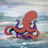 Octopus Brooch - Ocean Collection