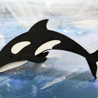 Orca Brooch - Ocean Collection