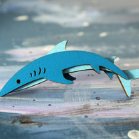 Shark Brooch - Ocean Collection