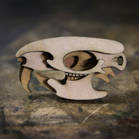 Rat Skull Brooch - Skelly Collection