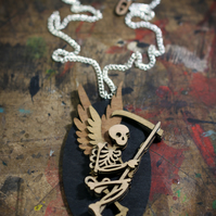 Angel Pendant Necklace - Skelly Collection