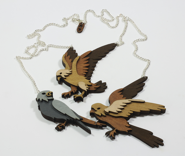 Company of Falcons - Statement Necklace