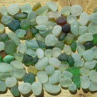 Genuine Seaham English Sea Glass - Small Stones, Chips and Chippings (3)