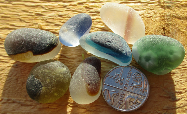Multi Assortment - Genuine Seaham English Sea Glass (1237)