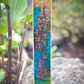 Hanging Gardens of Peaceland II, Acrylic and Watercolour on Paper mache Bookmark