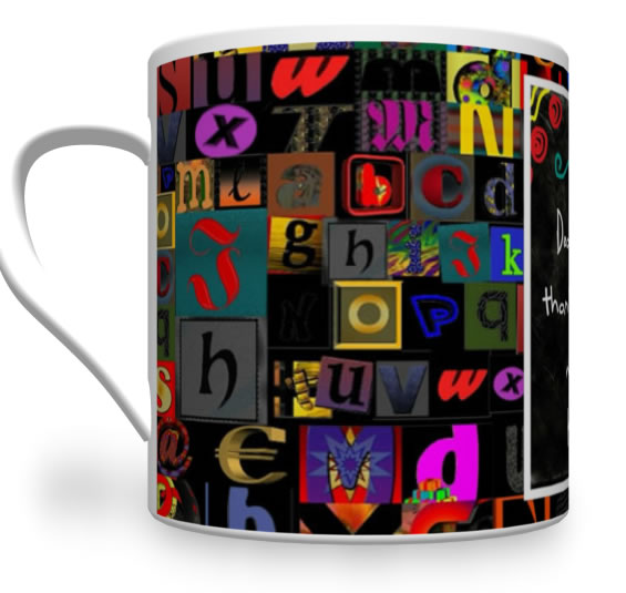 Personalised Teacher Gift. Teacher Mug With Names.