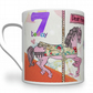 Personalised Little Girl Birthday Mug. Gift For Little Girl.