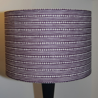Spot and Stripe Lampshade