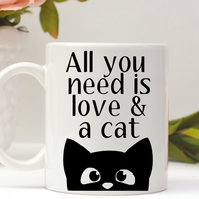 All you need is love and a cat mug