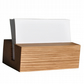 Oak Business Card Holder. Business Card Stand. Wooden Card Holder.