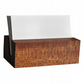Mahogany Business Card Holder. Business Card Stand. Wooden Card Holder.