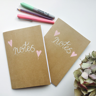 A5 Kraft Cover Notebook