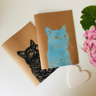A5 Cat Notebook
