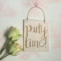 OOAK Pink Gold Glitter Party Decoration