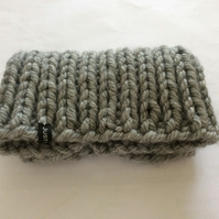 Super chunky unisex neck warmer