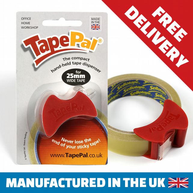 TapePal - the compact hand-held tape dispenser