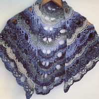 Shine Crochet Shawl