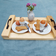 Breakfast Tray, serving tray, Lap Caddy. Breakfast in bed! Perfect for Parties,