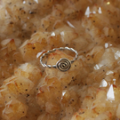 Sterling Silver Celtic Spiral Ring