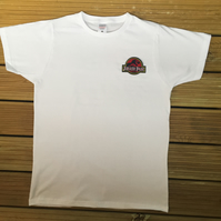 Jurassic Park Embroidered T-Shirt (Male & Female)