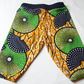 Colourful Baby & Toddler Harem Cotton Trousers. Homemade from African Fabric