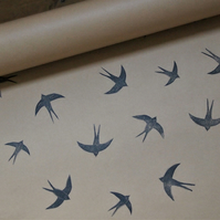 Swallow Wrapping Paper