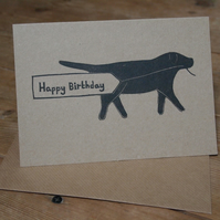 Labrador Birthday Card