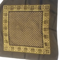 Mens silk pocket square