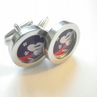 Picasso 3 Musicians cufflinks, elegant, classy gift, free UK shipping.....