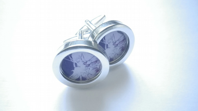 Fairy Queen champion archer cufflinks, great spirit mythology, free UK shipping.