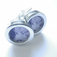 Fairy Queen champion archer cufflinks, great spirit of mythology, lovely gift.