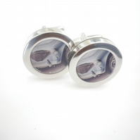 1959 Austin Healey 3000 cufflinks, elegant powerful car,free UK shipping