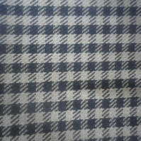 4m black and beige small check, classic design, cotton rich blend