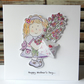 Mother's Day Card, PERSONALISE, Grandma Card, Hand Illustrated, Handmade Card