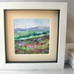 Watercolour Painting, Original, Heather on the Hills