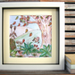 Watercolour Illustration, Autumn in the Countryside, Print, Nursery Wall Art