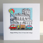 Car Birthday Card, Childrens Card, Personalise