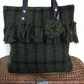 Olive Heddle tote bag