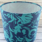Blue Floral Lampshade 20cm