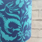 Blue Floral Lampshade 30cm