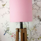 Pink and white Dotty Lampshade 30cm