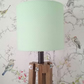 Green and White Dotty Lampshade 20cm