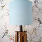 Blue and white Dotty Lampshade 20cm