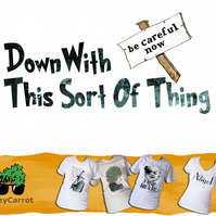 T-Shirt: FATHER TED: Down With This Sort Of Thing