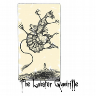T-Shirt: ALICE IN WONDERLAND: The Lobster Quadrille